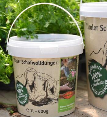 Tiroler Schafwolldünger