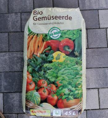 Bio Gemüseerde 45L Liter