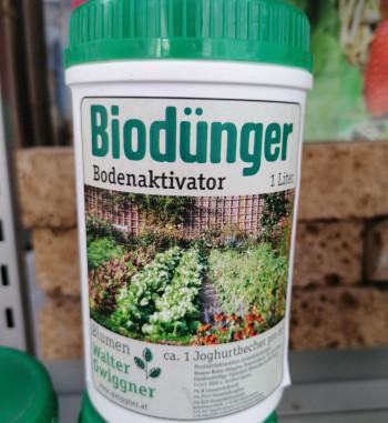 Biodünger Bodenaktivator